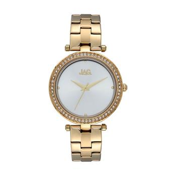 Jag Ava Silver and Yellow Gold Watch