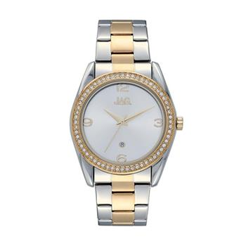 Jag Brooke Two Tone Yellow Gold Watch