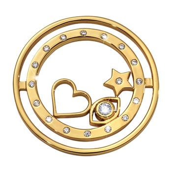 Nikki Lissoni Gold Plated Best Kept Secret Coin