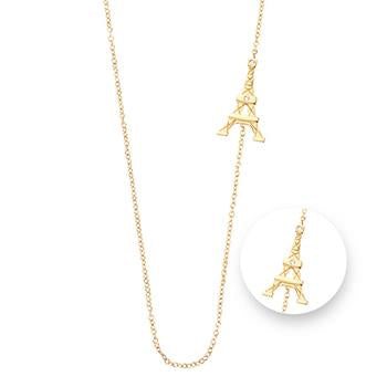 Nikki Lissoni Paris Gold Plated Necklace