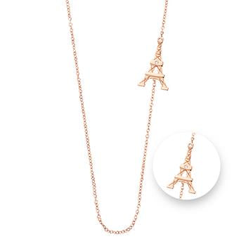 Nikki Lissoni Paris Rose Gold Plated Necklace