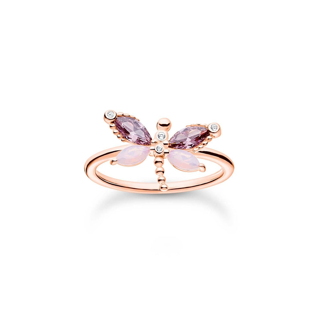 Thomas Sabo Ring Dragonfly Rose Gold