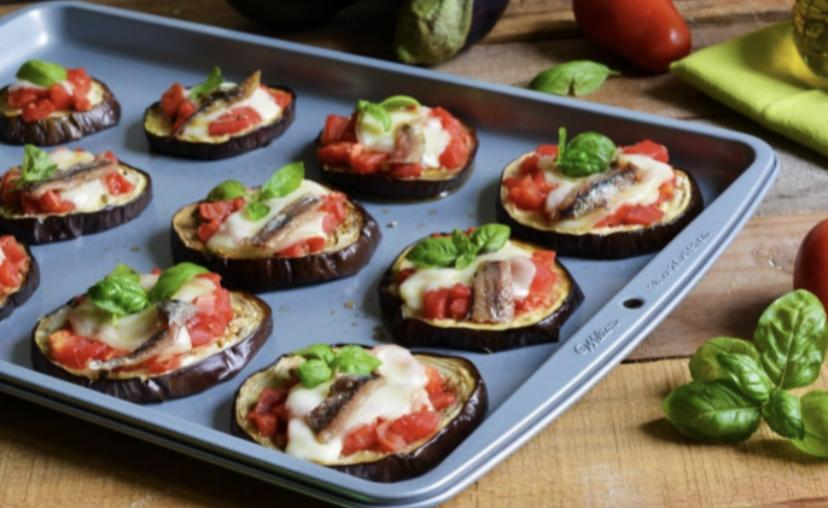 Eggplant Mini Pizza