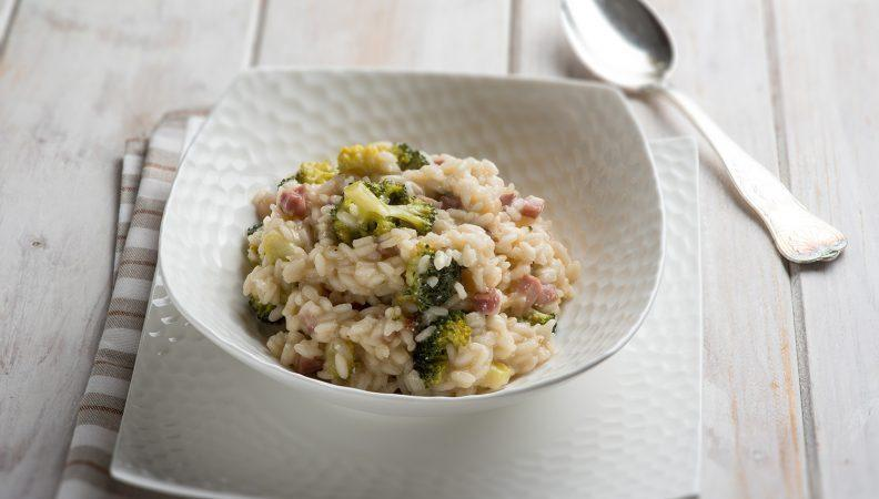 Risotto with Broccoli Rabe and Pancetta