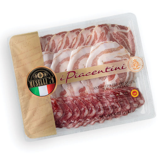 Antipasto Tris Coppa - Pancetta - Salame DOP 4oz Meats & Cheeses SOGNOTOSCANO