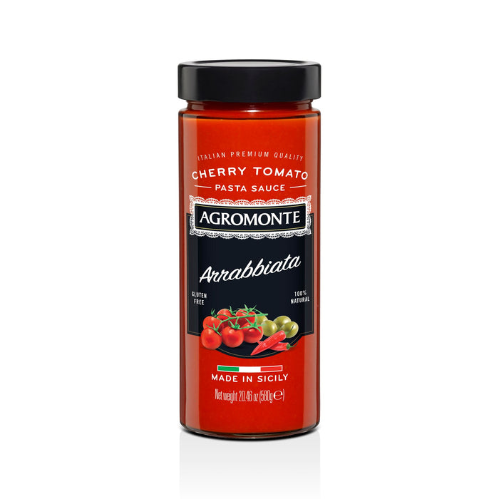 Arrabbiata Flavored Pasta Sauce -580gr Tomatos and Friends SOGNOTOSCANO