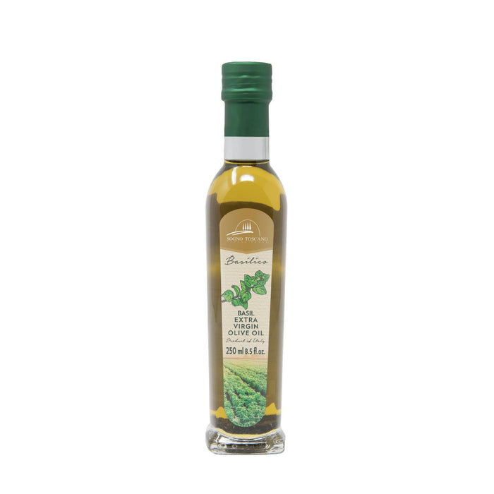 Basil oil 250ml Glass Bottle Oils Vinegars & Dressings SOGNOTOSCANO