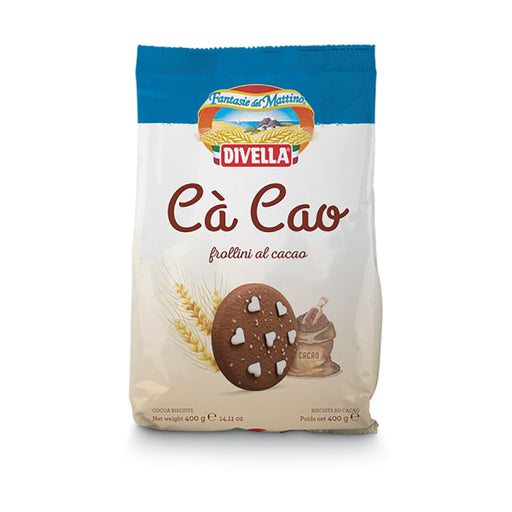 """Cà cao"" Chocolate Biscuits by Divella Crakers & Sweetes Sogno Toscano"