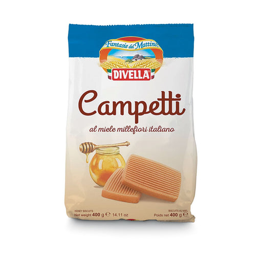 """Campetti"" with Honey Biscuits by Divella Crakers & Sweetes Sogno Toscano"