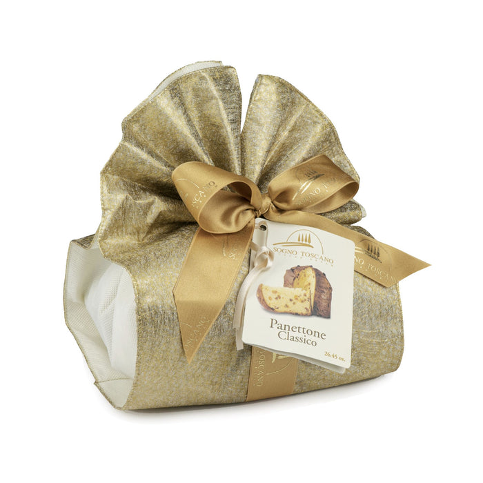 Classic Panettone (26.45oz) Crakers & Sweetes SOGNOTOSCANO