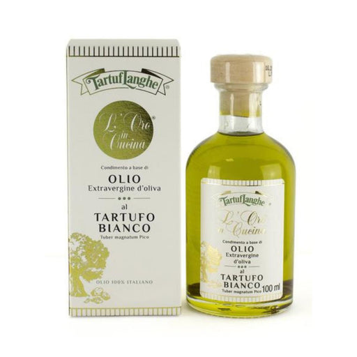 EVOO with White Truffle Slices by Tartuflanghe Oils Vinegars & Dressings SOGNOTOSCANO