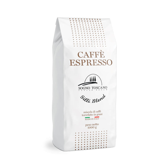 Gilli Blend Coffee 1kg / 2.2lbs Crakers & Sweetes SOGNOTOSCANO