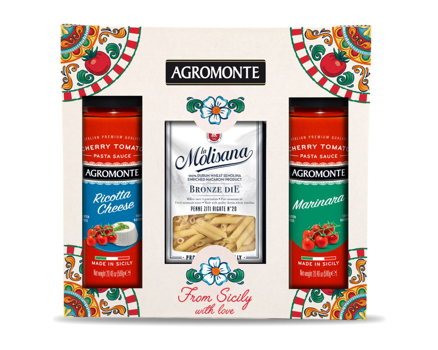 "Gourmet Gift Box ""Pasta Lovers"" Mix 1 Pasta, Grains & Beans Sogno Toscano"