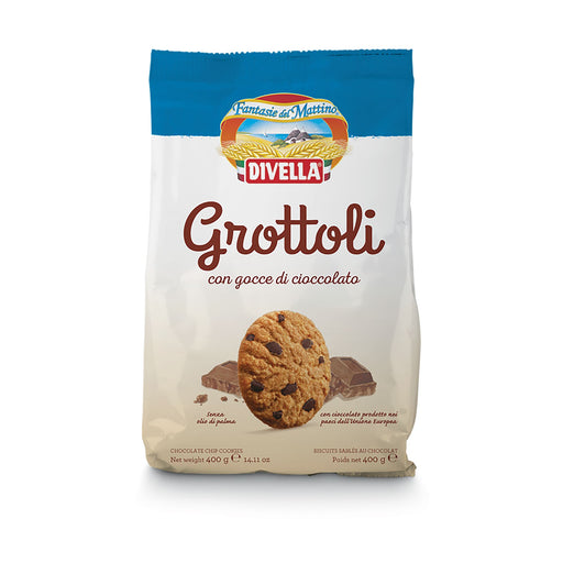 """Grottoli"" Chocolate Chips Cookies by Divella Crakers & Sweetes Sogno Toscano"