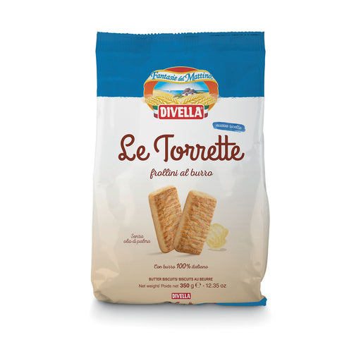 """Le Torrette"" Biscuits by Divella Crakers & Sweetes Sogno Toscano"