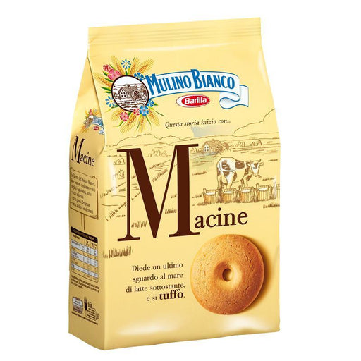 """Macine"" - Italian Shortbread Biscuits Cream (12.3 Oz) Crakers & Sweetes SOGNOTOSCANO"