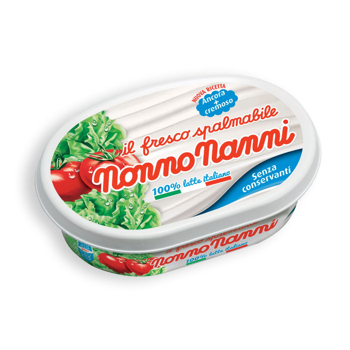 """Nonno Nanni"" Fresco Spalmabile - Spreadable Fresh Cream Cheese (1x0.33lbs) Meats & Cheeses SOGNOTOSCANO"