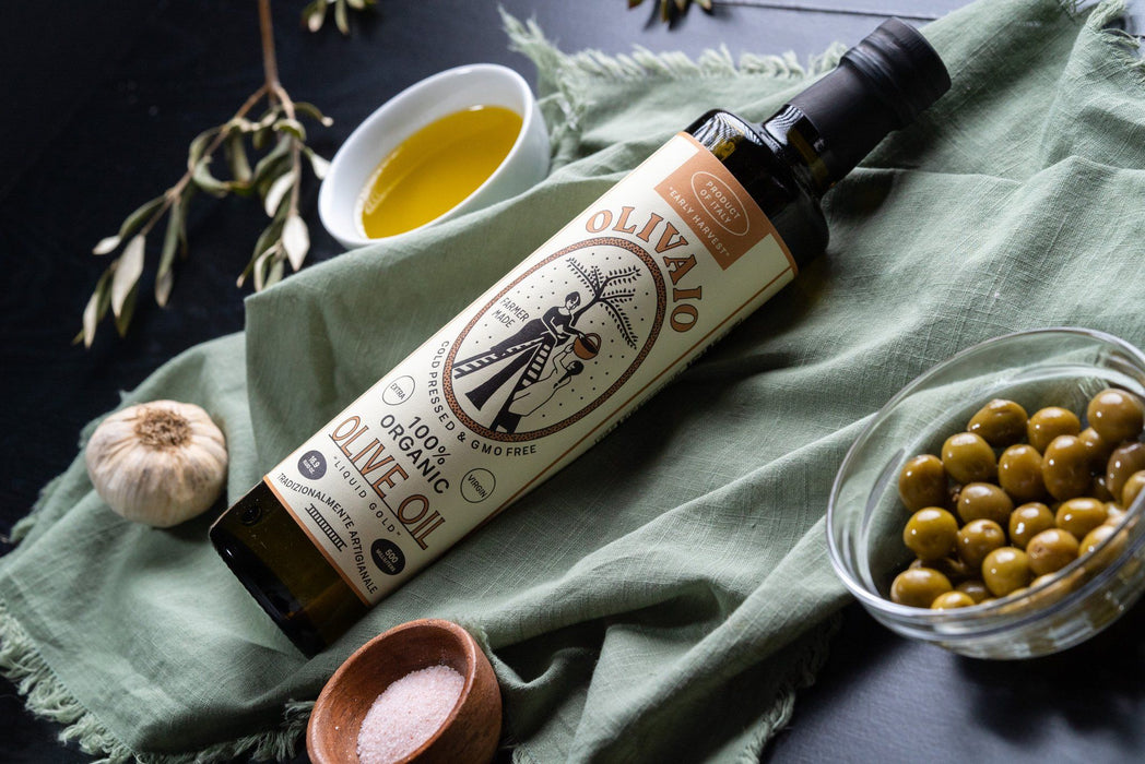 OLIVAIO - Italian Organic Extra Virgin Olive Oil Oils Vinegars & Dressings SOGNOTOSCANO