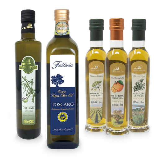 OLIVE OIL CONOSSEUR PACKAGE Packages SOGNOTOSCANO