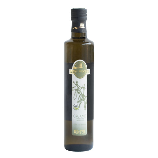 Organic EVOO 500ml Glass Bottle Oils Vinegars & Dressings SOGNOTOSCANO