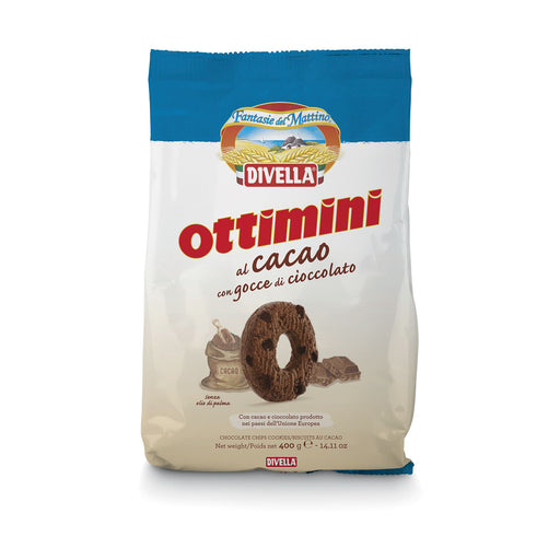 """Ottimini"" Chocolate Cookies by Divella Crakers & Sweetes Sogno Toscano"