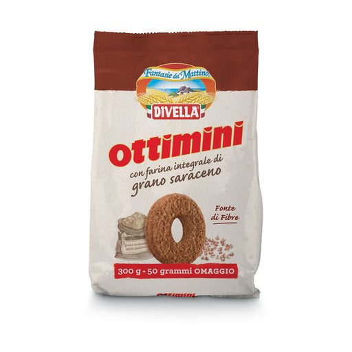 """Ottimini"" Wholewheat Cookies by Divella Crakers & Sweetes Sogno Toscano"