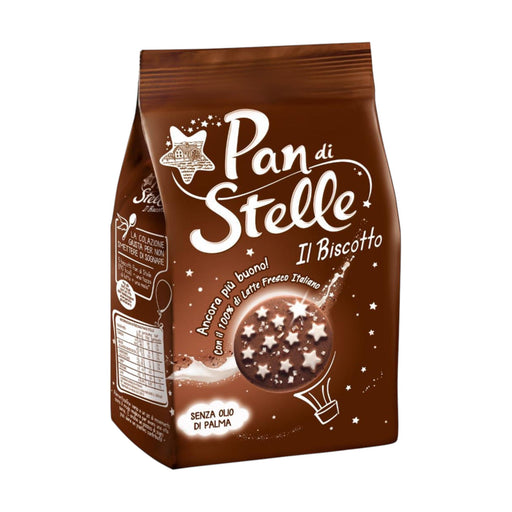 """Pan Di Stelle"" - Italian Cocoa Cookies (12.3 oz) Crakers & Sweetes SOGNOTOSCANO"