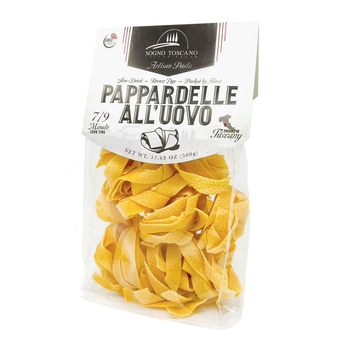 Pappardelle All'uovo (egg pasta) - 500gr Bag Pasta, Grains & Beans SOGNOTOSCANO