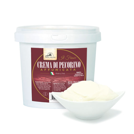 Pecorino Cream Smoked Tub 1.5kg (3.3lbs) Meats & Cheeses SOGNOTOSCANO