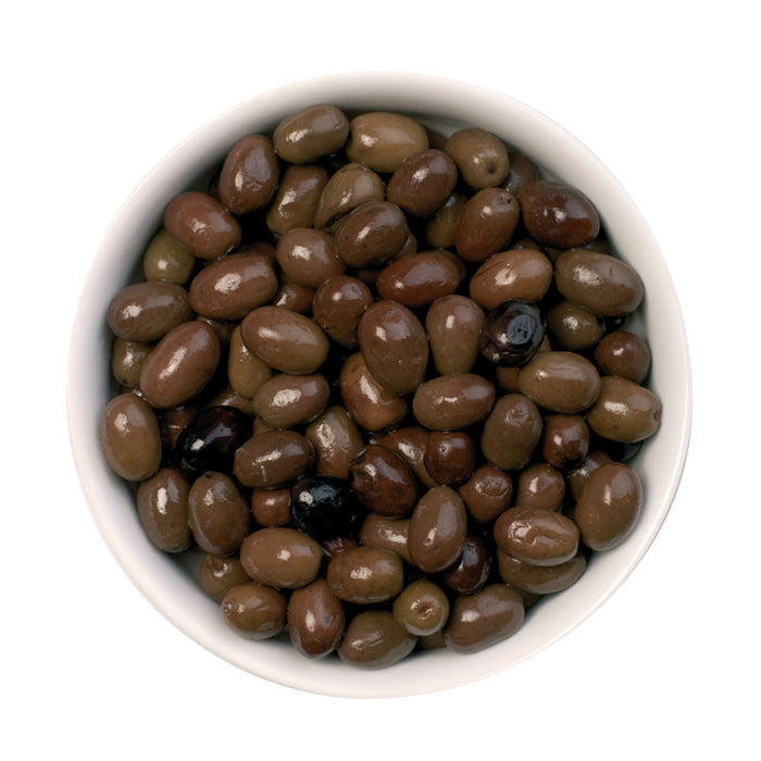 Pitted nostralina olives 2.5kg (5.5lbs) Can Antipasto & Bites SOGNOTOSCANO