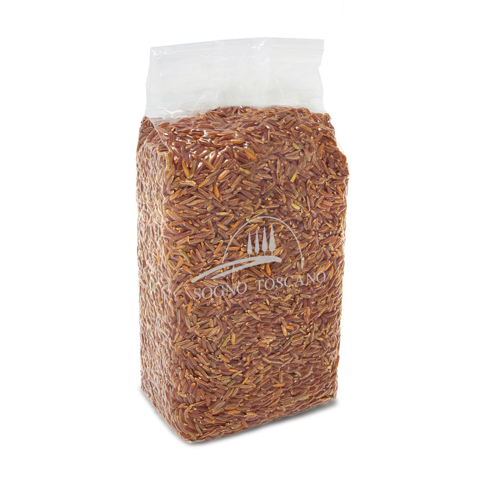 Riso Ermes (Red Rice) - Bag (2.2lb) Pasta, Grains & Beans SOGNOTOSCANO