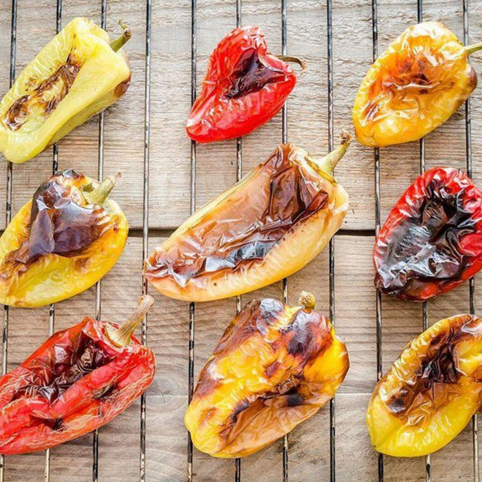 Roasted Bell Peppers - 3kg (6.6lbs) Can Antipasto & Bites SOGNOTOSCANO