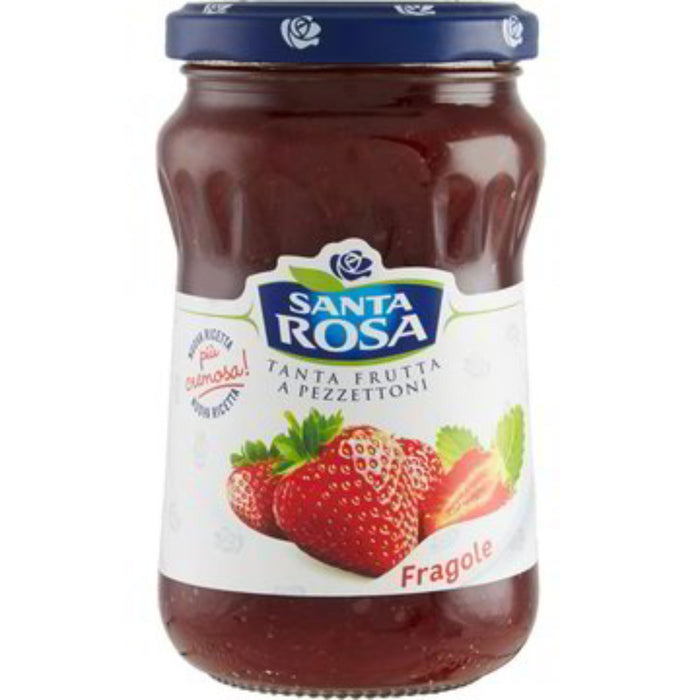 """Santa Rosa"" Italian Strawberry Jam (0.77 lb) Crakers & Sweetes SOGNOTOSCANO"