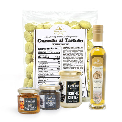 TRUFFLE SPECIALIST PACKAGE Packages SOGNOTOSCANO