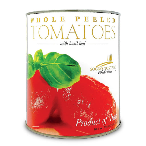 Whole peeled tomatoes large 3.4kg Can Tomatos and Friends SOGNOTOSCANO