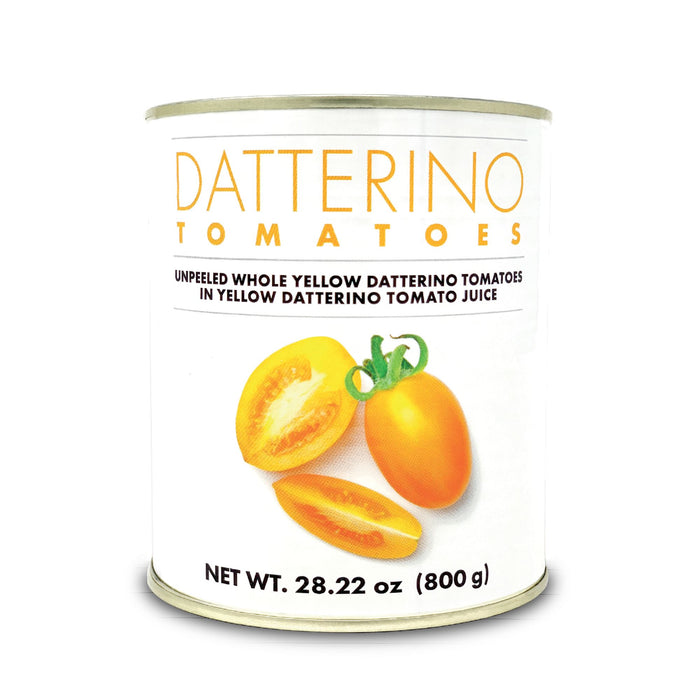 Yellow Datterino Tomatoes in juice - Can (28.22oz) Tomatos and Friends SOGNOTOSCANO