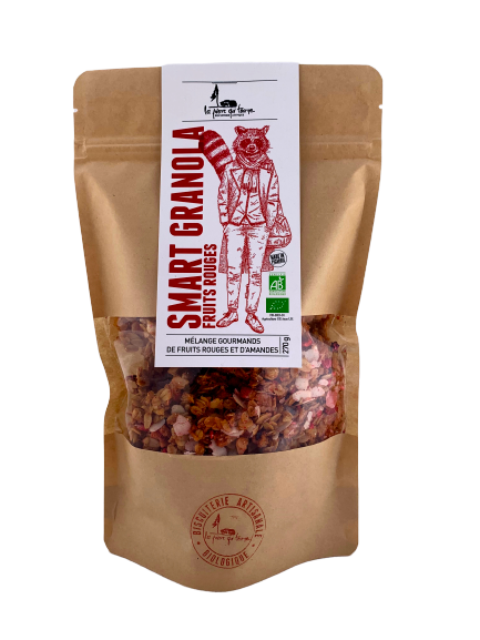 Smart granola fruits rouges - 270gr
