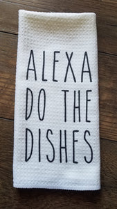 Alexa Do The Dishes