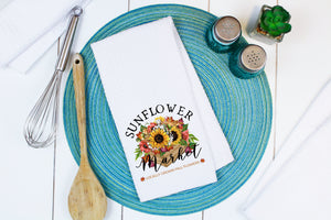 Sunflower Market Towel