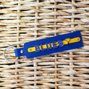 Blues Charm Keychain