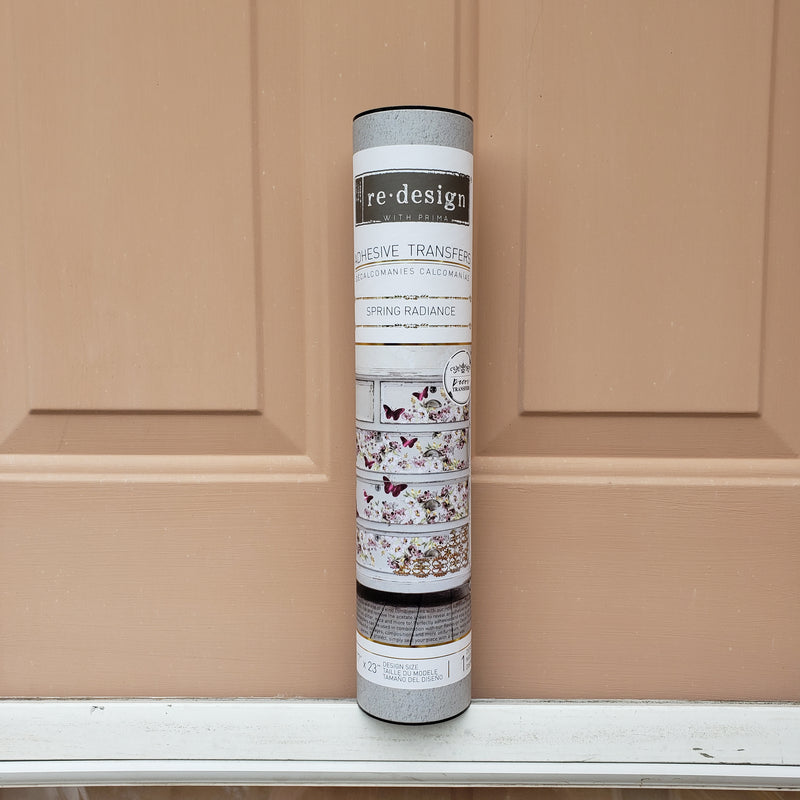 Spring Radiance Transfer / Dixie Belle Chalk Mineral Paint