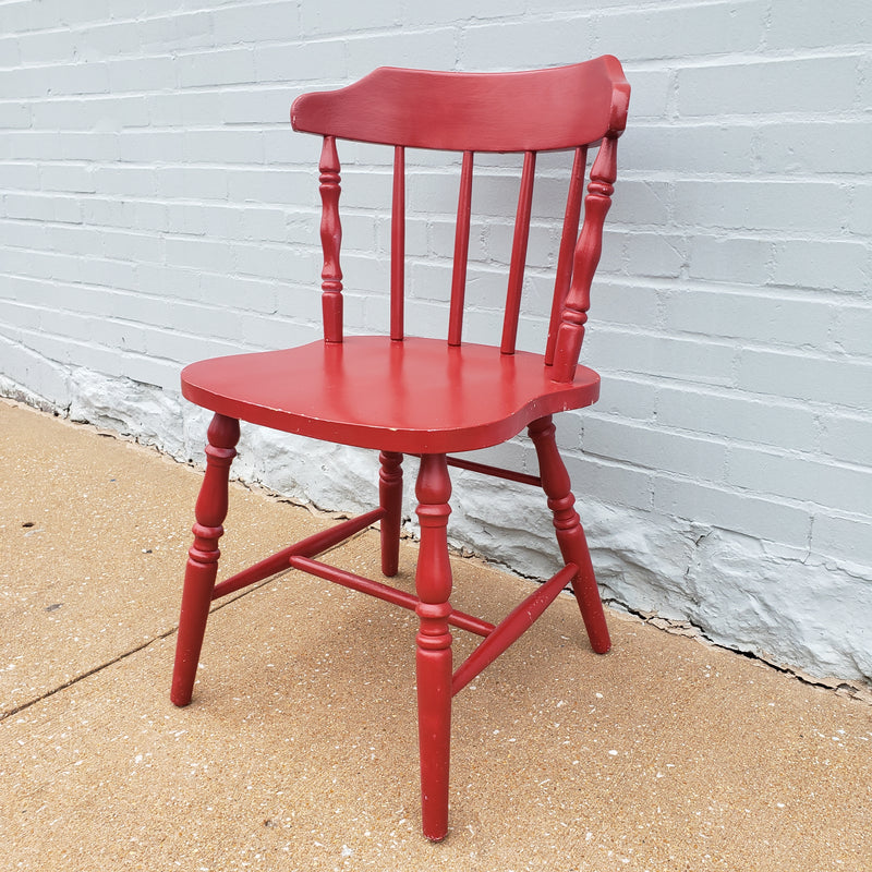 Red Cafe Chair