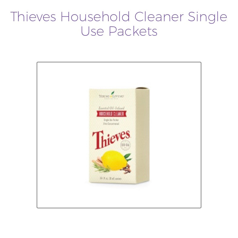 Thieves Products (Young Living Essential Oils)