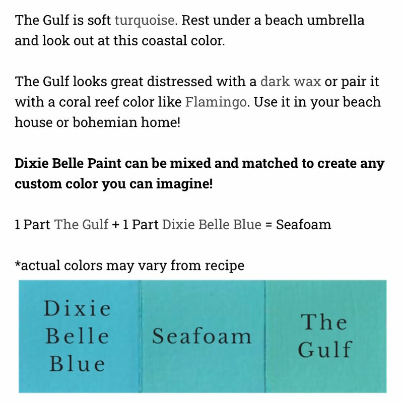 The Gulf / Dixie Belle Chalk Mineral Paint