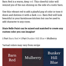 Barn  Red / Dixie Belle Chalk Mineral Paint