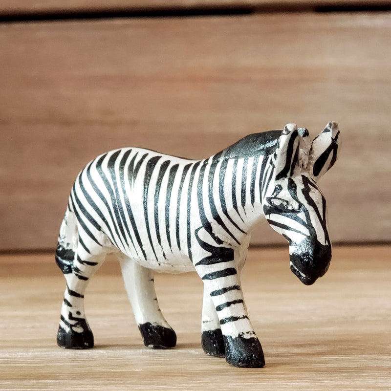 Safari Friends Wooden Animals - Miniatures