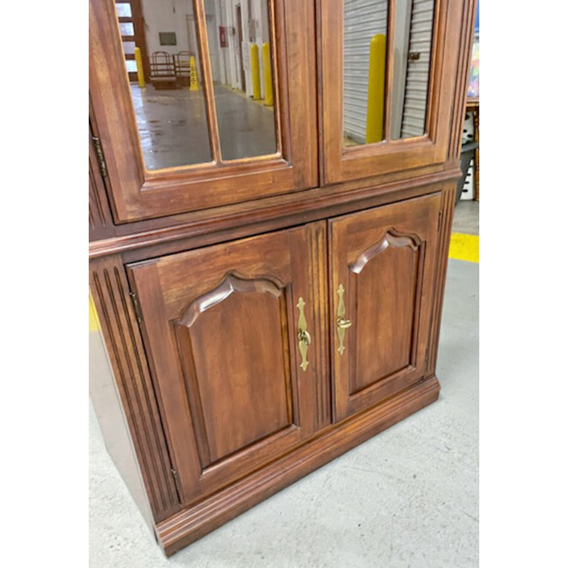 Vintage Thomasville Cherry Hutch
