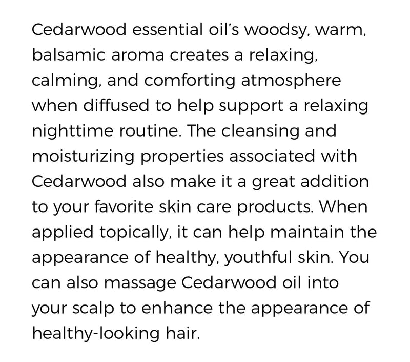 Cedarwood Essential Oil (Young Living Essential Oils)