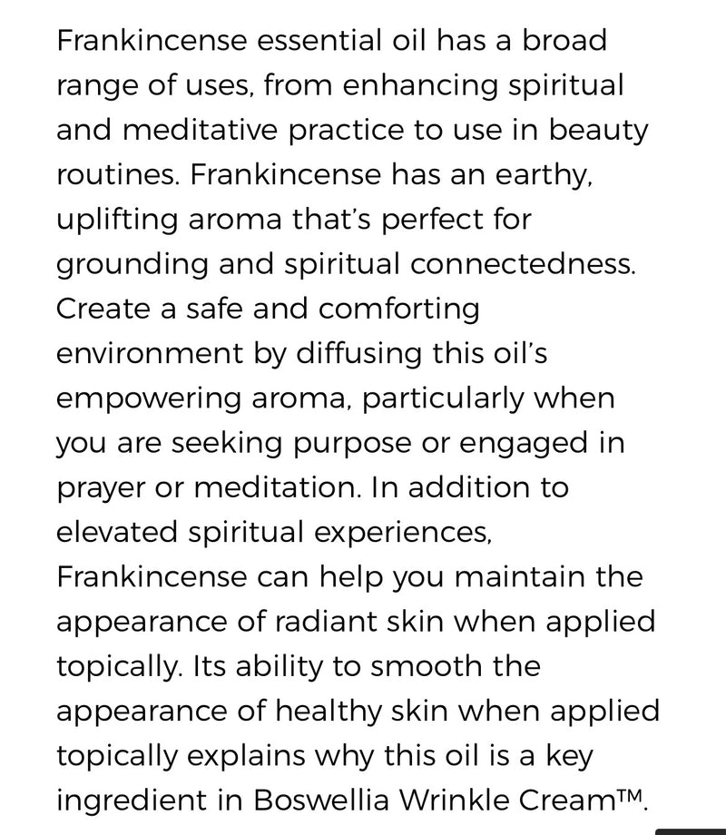 Frankincense Essential Oil (Young Living Essential Oils)