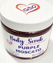 Load image into Gallery viewer, PURPLE MOSCATO GOURMET BODY SCRUB